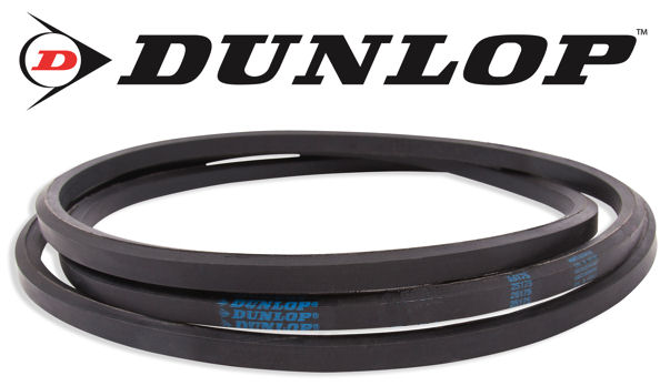 AA73 Dunlop Hexagonal Double Sided Drive Belt image 2