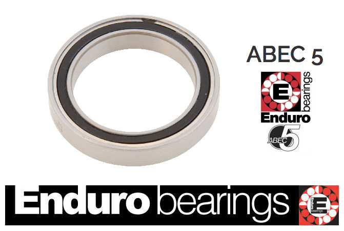 R6 SRS Enduro Bearing Abec 5 with Removable Seals 3/8