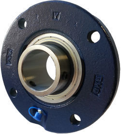 4 Bolt Round Flange Cast Iron photo