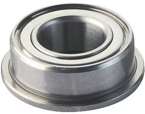 Flanged Deep Groove Ball Bearings photo