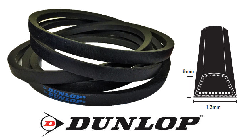 A52.5 Dunlop A Section V Belt image 2