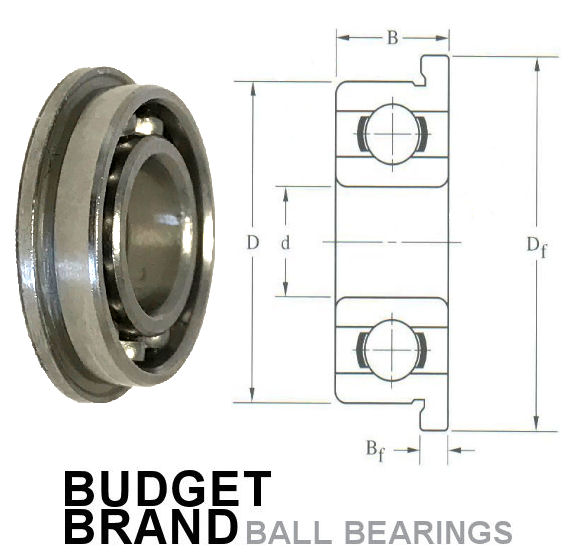 MF84 Flanged Budget Brand image 2