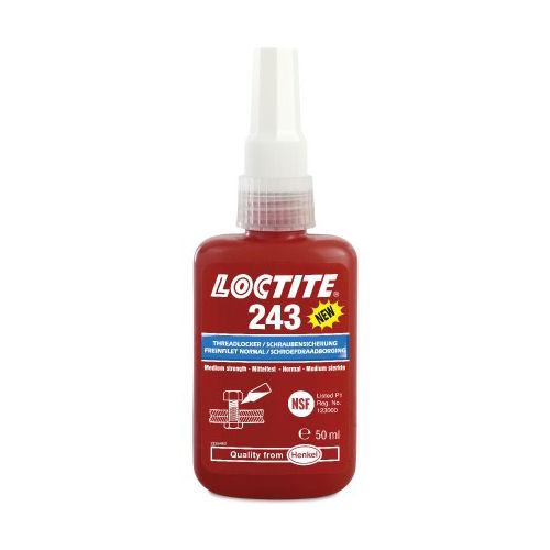 Loctite 243 Medium Strength Oil Tolerant 250ml image 2