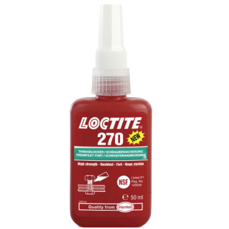 Loctite 270 High Strength Studlock 50ml image 2