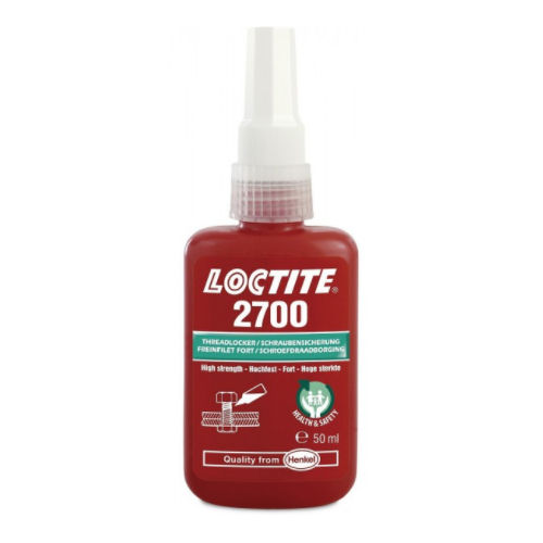 Loctite 2700 Health & Safety Friendly High Strength 50ml image 2