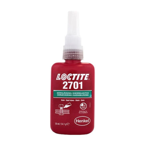 Loctite 2701 High Strength Oil Resisitant 50ml image 2