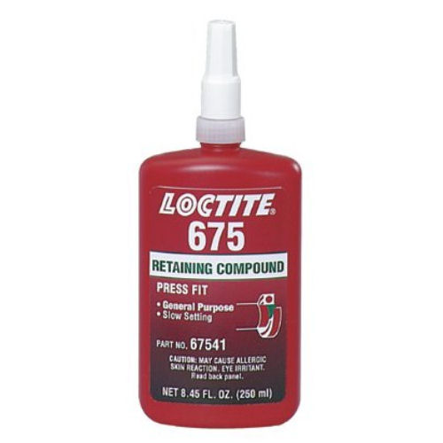 Loctite 675 High Strength Low Viscosity Slow Cure 250ml image 2