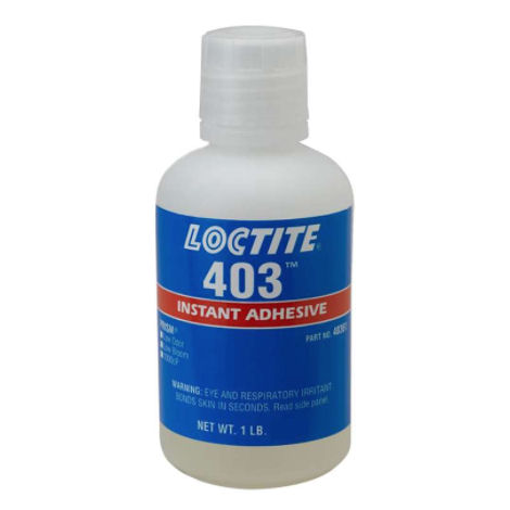 Loctite 403 High Viscosity Low Bloom Low Odour 500g image 2