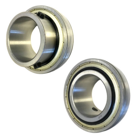 Flat Back Spherical Outer Inserts with Integral Set Screw Lock photo