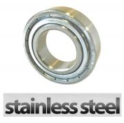 W6209 2Z Stainless Steel Shielded Deep Groove Ball Bearing 45x85x19mm
