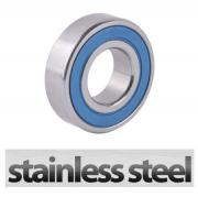 W6209 2RS Stainless Steel Sealed Deep Groove Ball Bearing 45x85x19mm