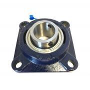 SF17 RHP 4 Bolt Cast Iron Flange Bearing Unit 17mm Bore