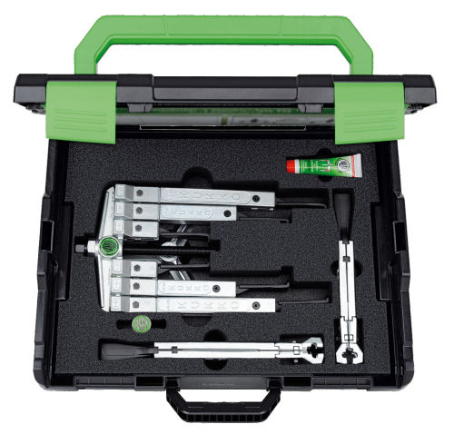 K-2030-10-S-T Kukko Set of Two and Three Arm Pullers with Extremely Narrow Jaws image 2
