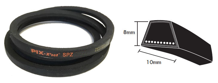 SPZ500 PIX SPZ Section V Belt image 2