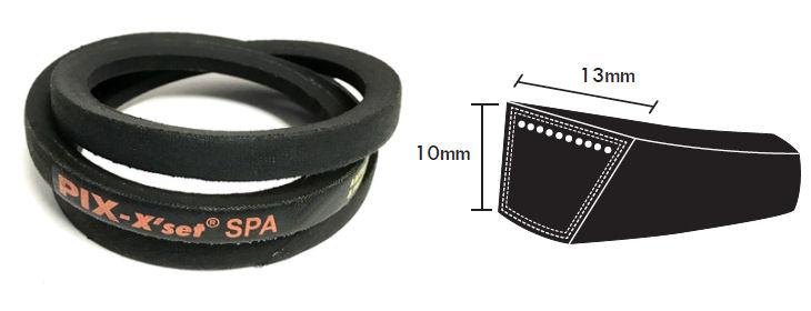 SPA900 Major Branded Wedge Vee V-Belt SPA 13x10mm