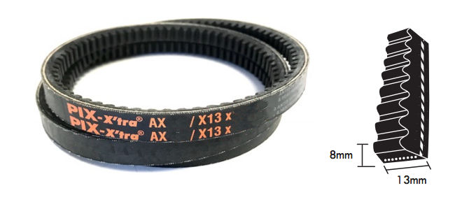 AX50.5 PIX Cogged V Belt image 2