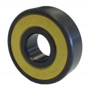 608 2RS ABEC7 Black & Yellow Sealed Skateboard Bearing 8x22x7mm