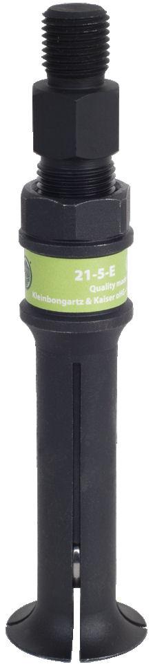 21-5-E Kukko Segmented Internal Extractor 34-48mm Pulling Diameter image 2