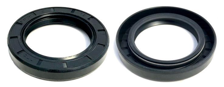 45x80x10mm Oil Seal Shaft Double Lip R23//TC Nitrile Rubber 45mm Shaft