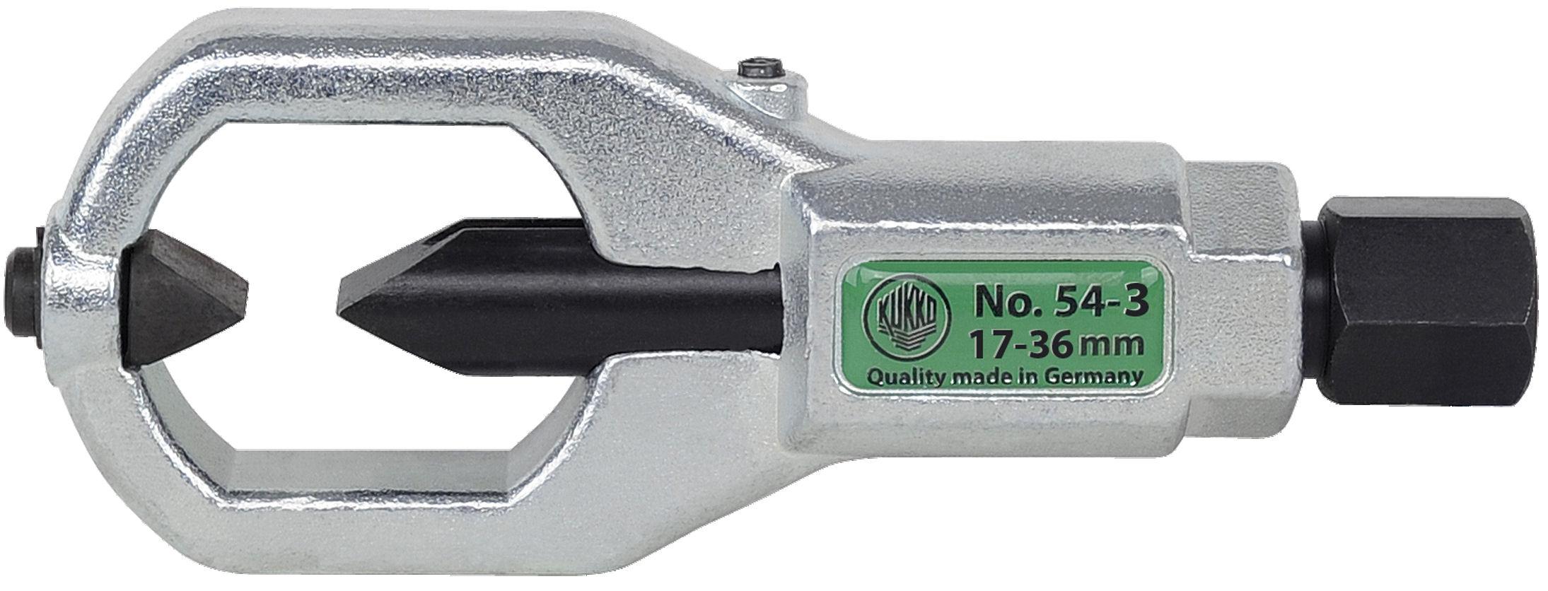 54-3 Kukko Double Edged Mechanic Nut Splitter for Nuts 17-36mm image 2