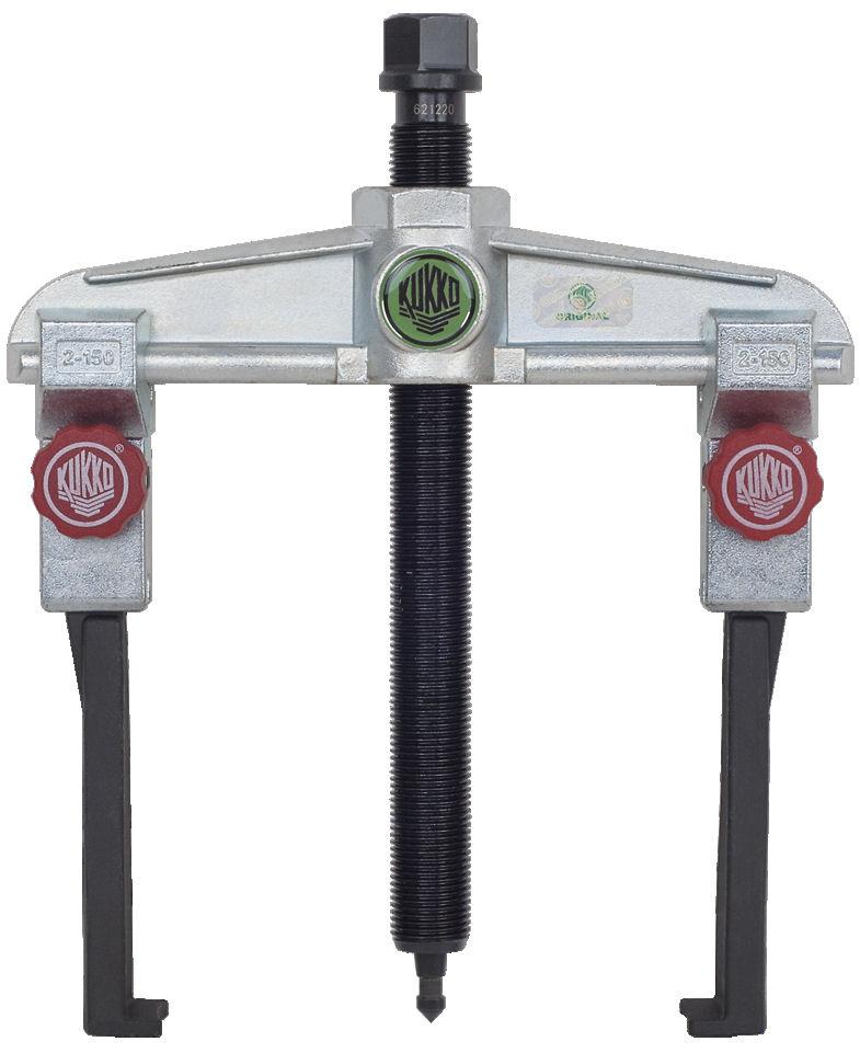 20-2 Plus S KUKKO Universal 2 Jaw Puller with Narrow Quick Adjusting Jaws 150 x 160mm image 2