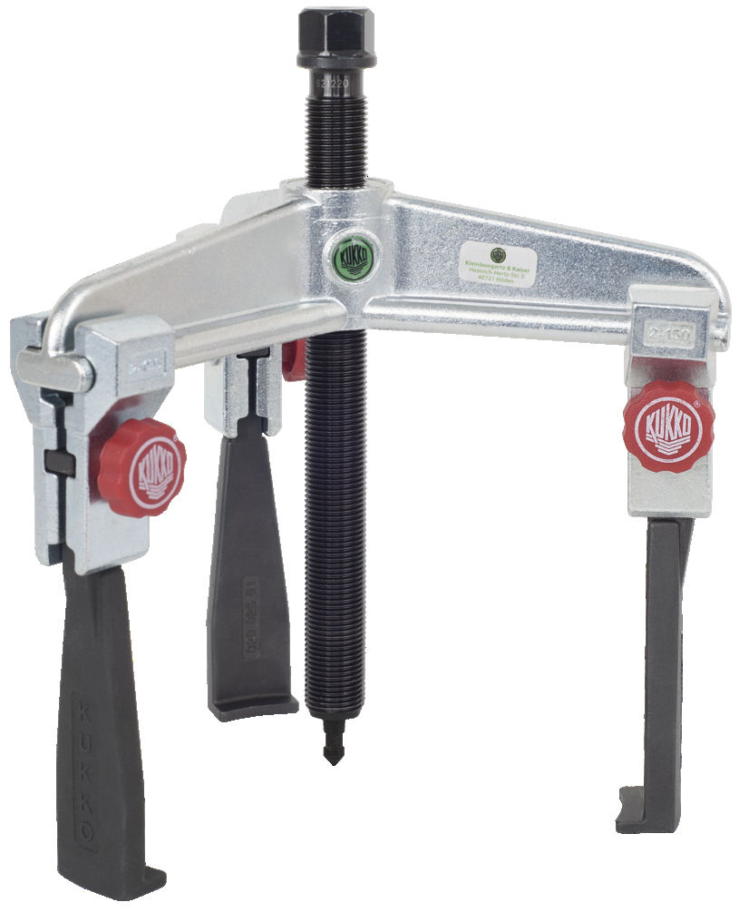 30-20+S Kukko Universal 3-Jaw Puller with Narrow Quick Adjusting Jaws 150 x 260mm image 2
