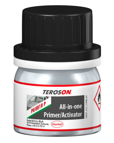 PU8519P Teroson Direct Glazing all-in-one Glass Primer/Activator 25ml image 2