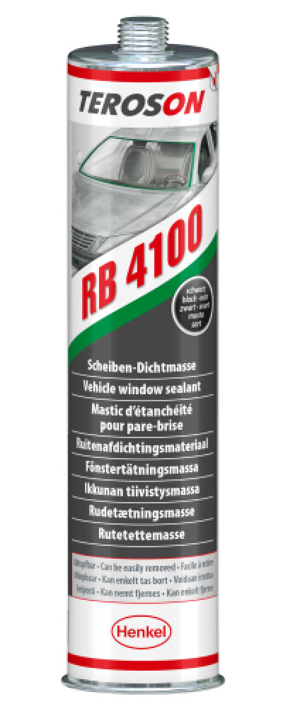 RB4100 Teroson Black Direct Glazing Sealant 310ml image 2