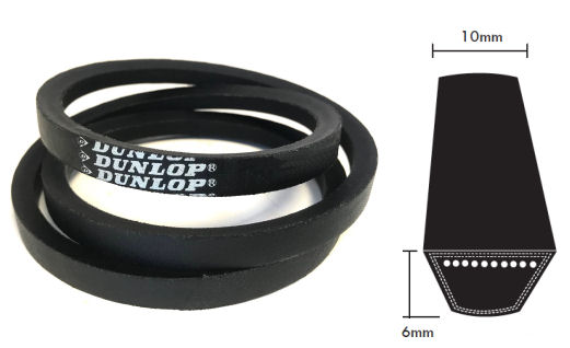 Z21.5 Dunlop Z Section V Belt image 2