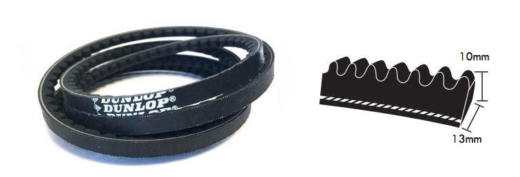 XPB2800 Dunlop Cogged Wedge Belt image 2