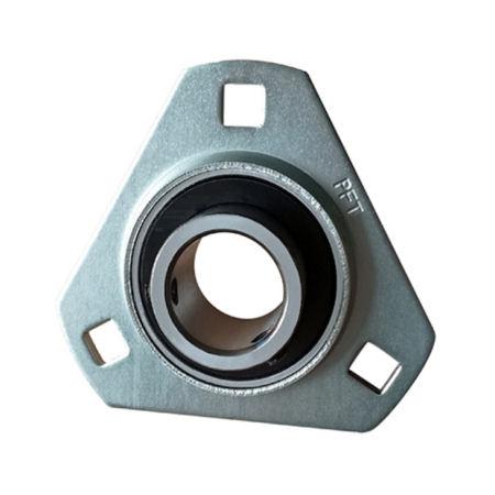 Pressed Steel Triangular Flange Bearing Units photo