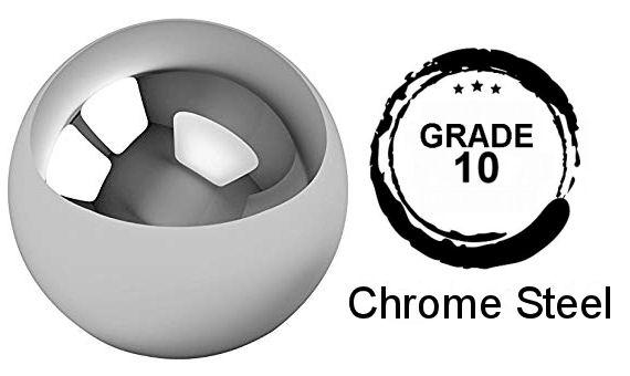 9mm Diameter Grade 10 52100 Hardened Chrome Steel Balls image 2