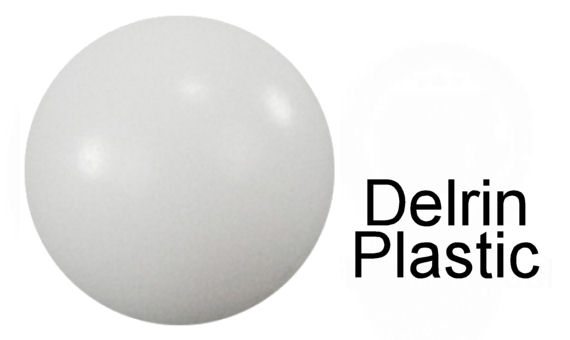 20mm Diameter Delrin POM Celcon Solid Plastic Balls image 2