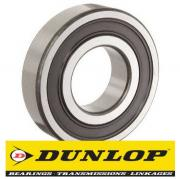 6000 2RS Dunlop Sealed Deep Groove Ball Bearing 10x26x8mm