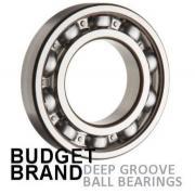 6000 Budget Brand Open Deep Groove Ball Bearing 10x26x8mm