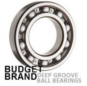 6008 Budget Brand Open Deep Groove Ball Bearing 40x68x15mm