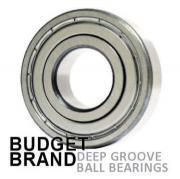 61811 ZZ Budget Brand Shielded Deep Groove Ball Bearing 55x72x9mm
