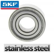 W624-2Z SKF Shielded Stainless Steel Deep Groove Ball Bearing 4x13x5mm
