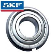 6206-2ZNR SKF Shielded Deep Groove Ball Bearing with Circlip Groove and Circlip 30x62x16mm