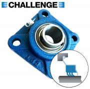 UCF204 Challenge Triple Sealed 4 Bolt Flange Bearing 20mm Shaft
