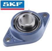 FYTB20TF SKF Oval Flange 2 Bolt Y Bearing with Grub Screws 20mm