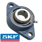 FYTB20FM SKF Oval Flange 2 Bolt Y Bearing with Eccentric Locking Collar 20mm