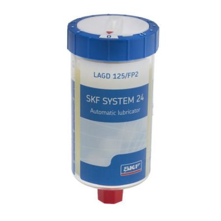 SKF LAGD125/FP2 125ml Automatic Lubricator with Food Compatible Bearing Grease image 2