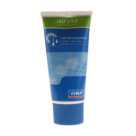 SKF LGLT2 200g Low Temperature, Extremely High Speed Bearing Grease image 2