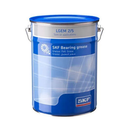SKF LGEM2 5kg High Viscosity Bearing Grease with Solid Lubricants image 2