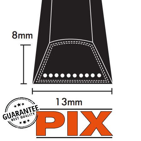 PIX A Section Wrapped V Belts 13x8mm photo