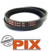 AX76 PIX Cogged V Belt