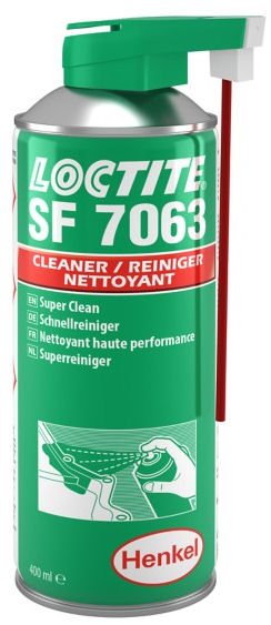 Loctite SF7063 Cleaner & Degreaser 400ml (UK Delivery Only) image 2