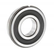 6003 2RSNR Budget Stainless Sealed Ball Bearing with Circlip Groove & Circlip 17x35x10mm