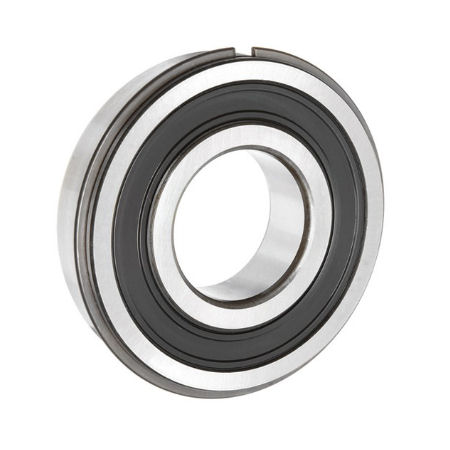 6003 2RSNR Budget Stainless Sealed Ball Bearing with Circlip Groove & Circlip 17x35x10mm image 2